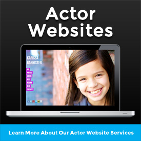 Custom Actor Reels - Actor Websites Services Overview